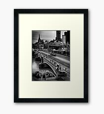 Melbourne CBD Framed Print