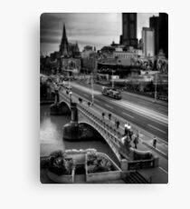Melbourne CBD Canvas Print