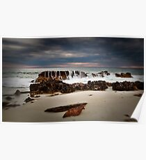 Lucy's Beach ~ Greenough Poster