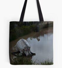 NIGHT HIPPO 18 Tote Bag