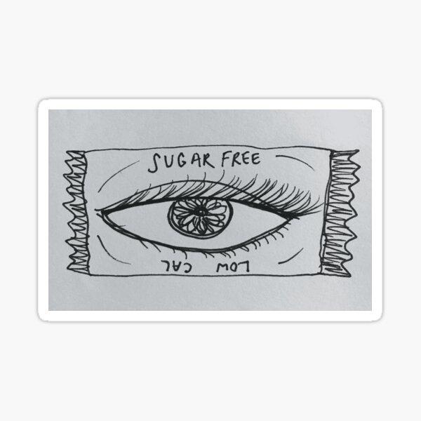 eye candy Sticker