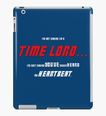 I'm Not Saying I'm a Time Lord Coque et skin iPad