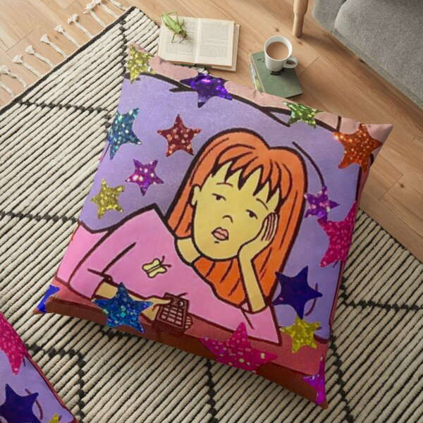 MTV Daria Quinn  Floor Pillow