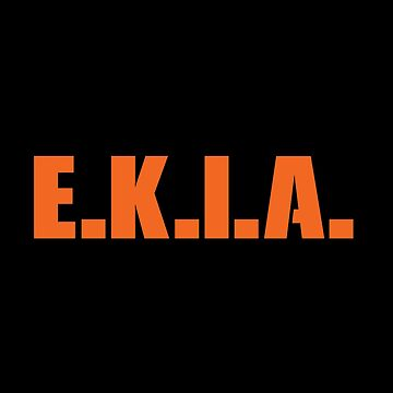 E.K.I.A. - Enemy Killed In Action by nyr1301