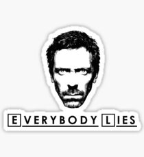 House - Everybody Lies Sticker