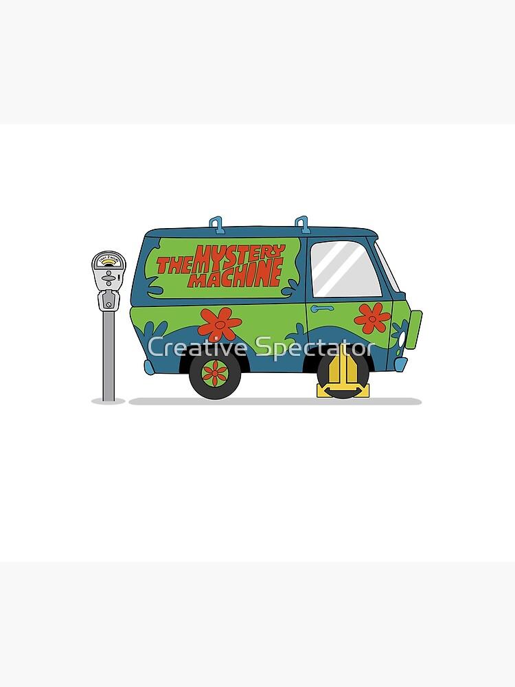 Scooby doo mystery machine by Feelmeflow