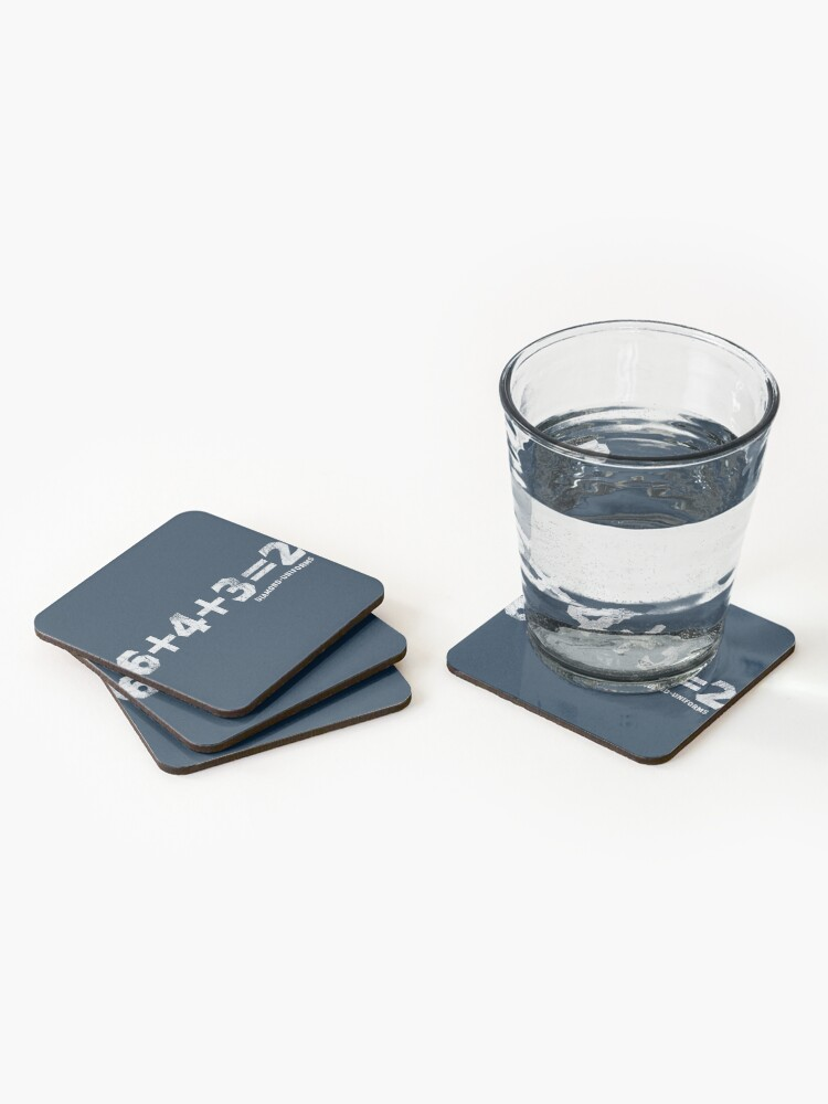 Alternate view of 6+4+3=2 Coasters (Set of 4)