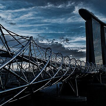 Helix Bridge by loveatgunpoint
