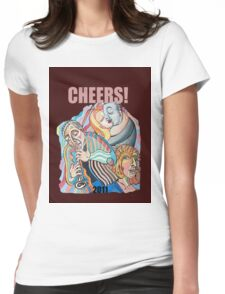 CHEERS, 2011 Womens Fitted T-Shirt