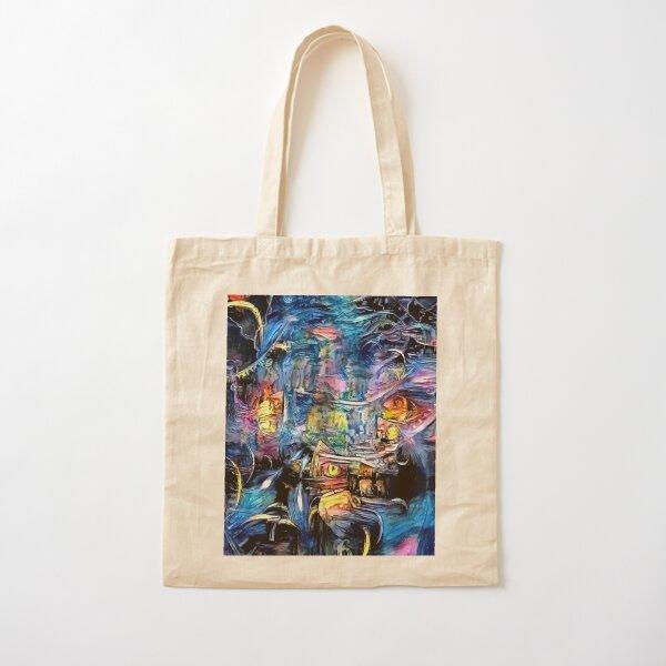 Abstract Painting Digital Art T-Shirt Cotton Tote Bag