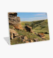 Rocks on Buffalo Jump Laptop Skin