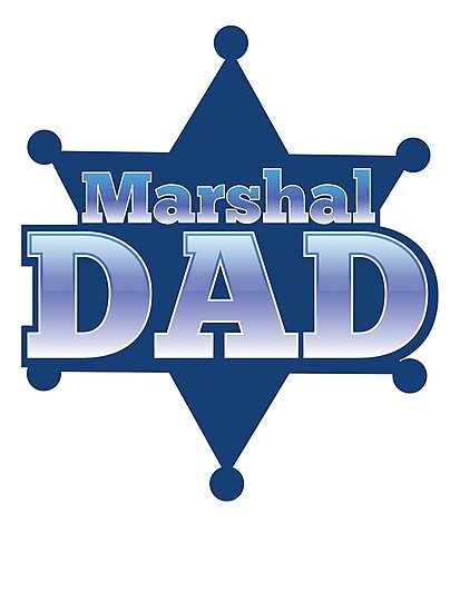 Marshal DAD! on a sherif star by jazzydevil