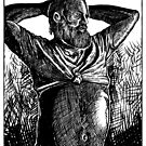 Grecian God in Repose by ZugArt