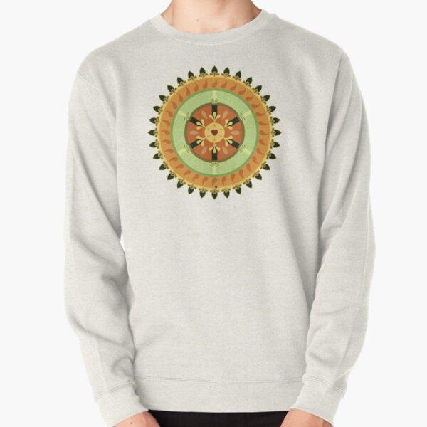 Citrus Heart Pullover Sweatshirt