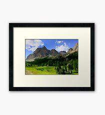 Lámina enmarcada Dolomiti di Lagazuoi