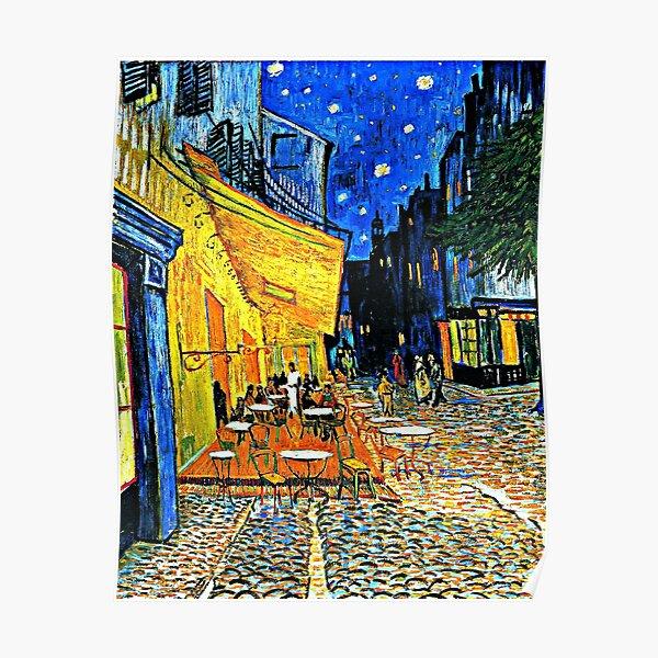 Van Gogh - Cafe Terrace, Place du Forum, Arles Poster