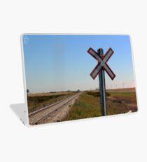 Railway Crossing Laptop Skin