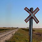 Railway Crossing by madeinsask