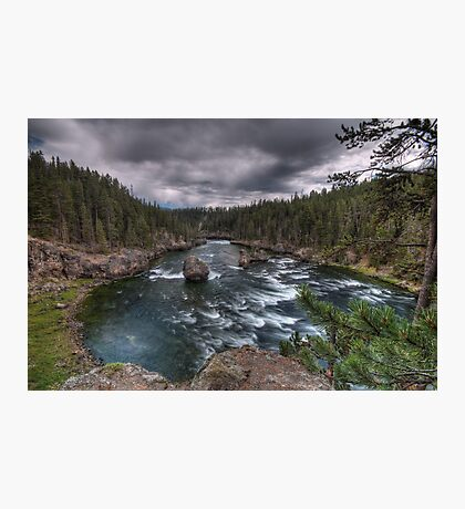 Riverbowl Photographic Print