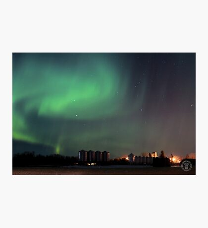 Green Northern Lights Photographic Print