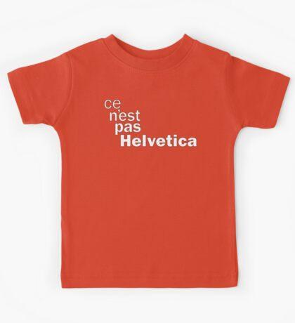 ce n'est pas Helvetica Kids Clothes