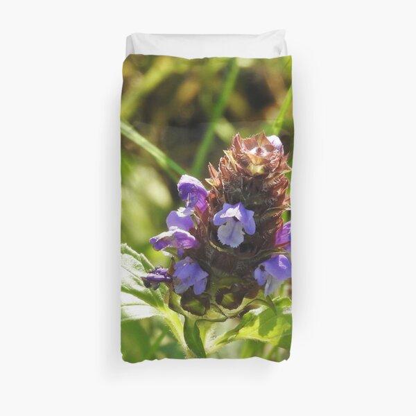 Self Heal Wildflower Duvet Cover