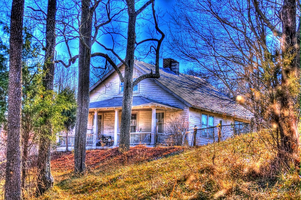 Family Farm House  by David Owens