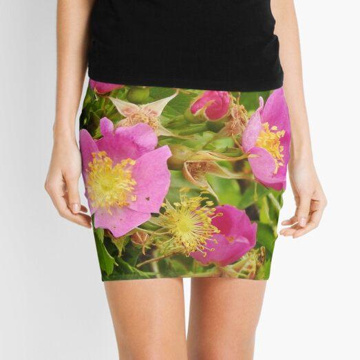 Wild Roses Mini Skirt