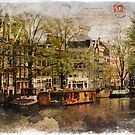 Forgotten Postcard Amsterdam, The Netherlands by Alison Cornford-Matheson