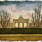 Parc Cinquantenaire, Belgium – Forgotten Postcard by Alison Cornford-Matheson