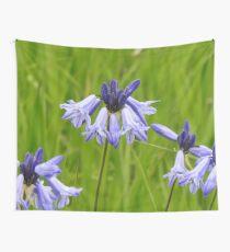 Wild Hyacinth Wildflower Wall Tapestry