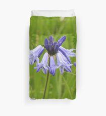Wild Hyacinth Wildflower Duvet Cover