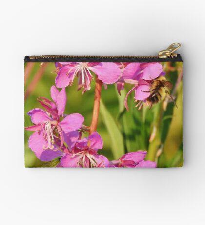 Fireweed Wildflower Zipper Pouch