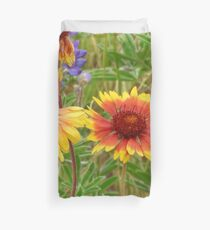 Blanket Flower Wildflowers Duvet Cover