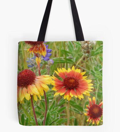 Blanket Flower Wildflowers Tote Bag