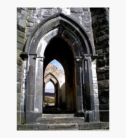 Thru the Arches Photographic Print