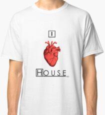 I Love House Classic T-Shirt
