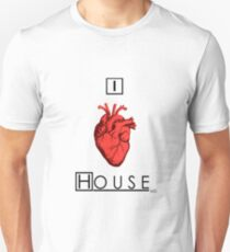 I Love House T-Shirt