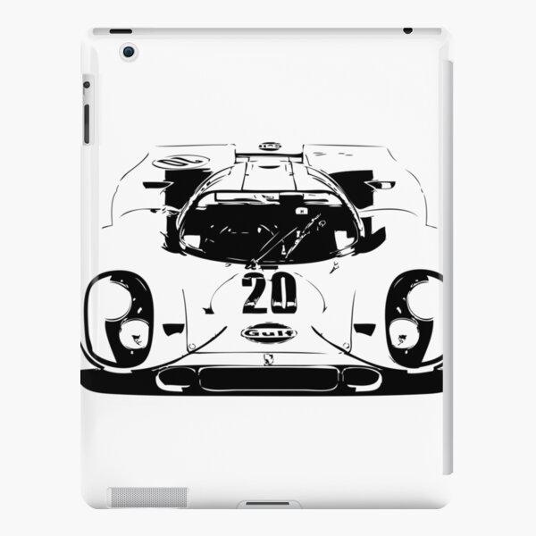 Porsche 917 Gulf - Le Mans Race Car iPad Snap Case