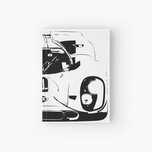 Porsche 917 Gulf - Le Mans Race Car Hardcover Journal
