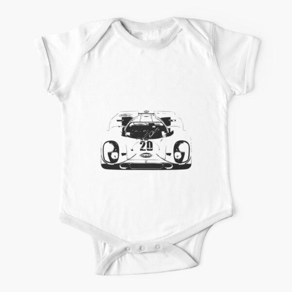 Porsche 917 Gulf - Le Mans Race Car Short Sleeve Baby One-Piece