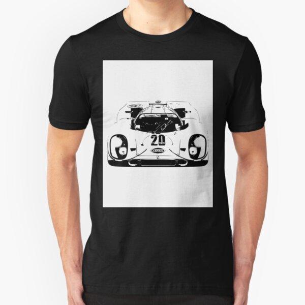 Porsche 917 Gulf - Le Mans Race Car Slim Fit T-Shirt