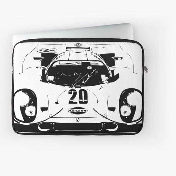 Porsche 917 Gulf - Le Mans Race Car Laptop Sleeve