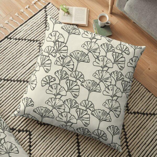 GINKGO LEAVES Floor Pillow