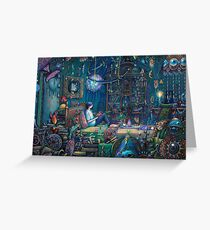 Howls room in Moving Castle Greeting Card