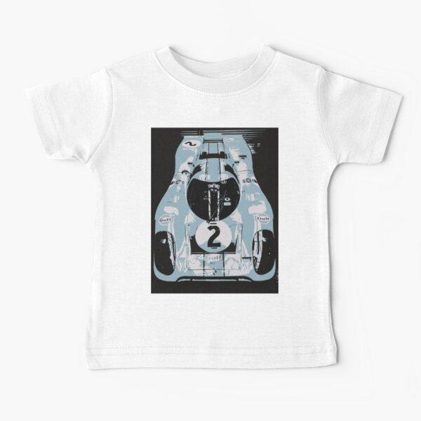 1969 Porsche 917K Le Mans Race Car Baby T-Shirt