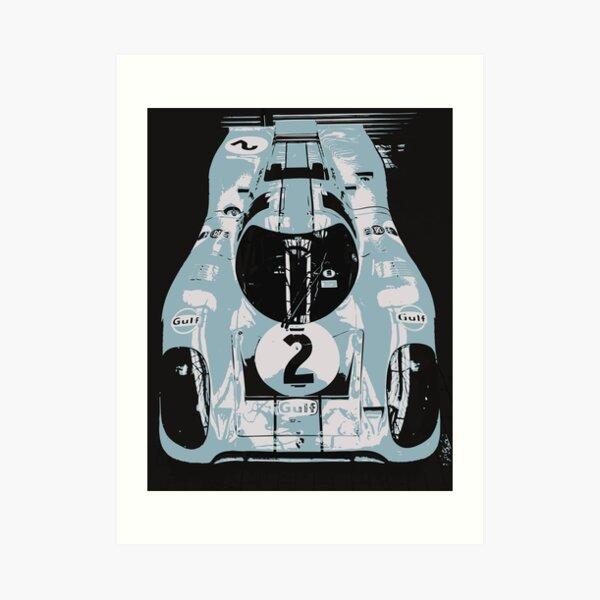1969 Porsche 917K Le Mans Race Car Art Print