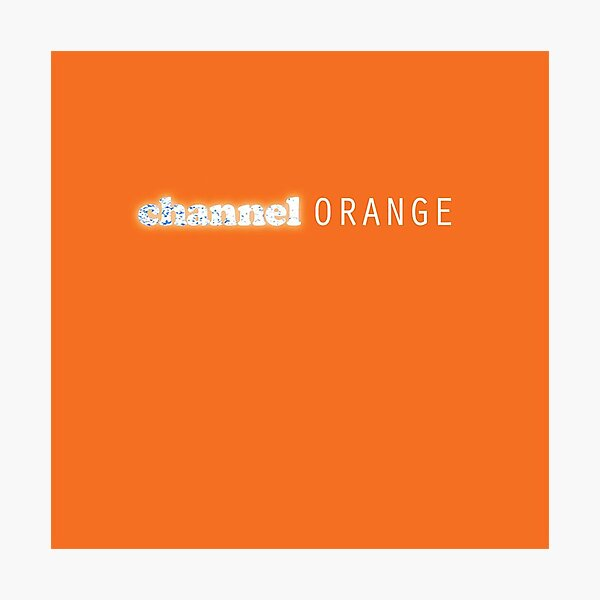 channel orange Frank ocean album Photographic Print