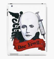 Doc Yewll iPad Case/Skin