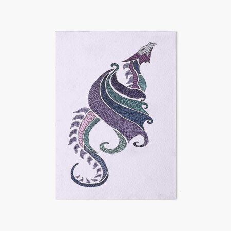 Amethyst Dragon Art Board Print